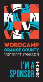 WordCamp OC 2012 Sponsor
