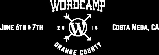 WordCamp Orange County | June 6 & 7 | Costa Mesa, CA
