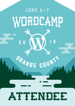 WCOC2015 Attendee Badge