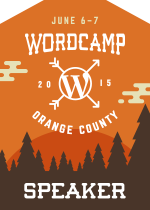 WCOC2015 Speaker Badge